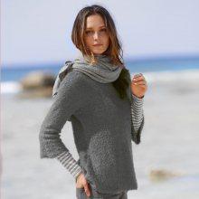 Blancheporte Jemný pulovr šedá 34/36