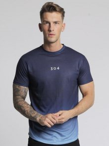 Tričko Blue Dip Dye modrá M