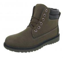Pánské vyšší zimní boty