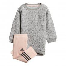adidas I Sw Dress Set šedá 80