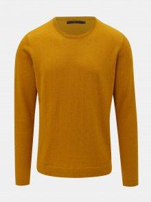 Žlutý vlněný svetr SUIT Clyde
