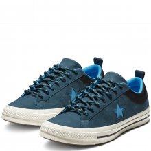 Converse modré kožené pánské tenisky One Star Ox Blue/Black - 42