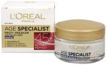Loreal Paris Noční krém proti vráskám Age Specialist 45+ 50 ml