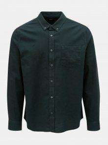 Tmavě zelená košile Burton Menswear London