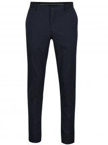 Tmavě modré formální kalhoty Selected Homme Mathsaul