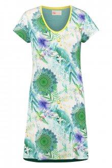 Home zelená dámská noční košile Hip Viridi Dress - XS