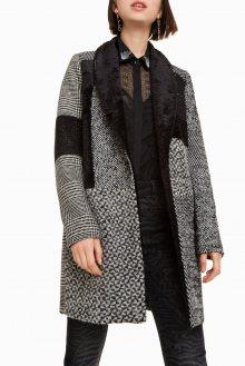 Desigual šedý kabát Merlon - 36