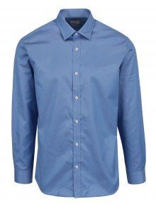 Modrá formální slim fit košile Selected Homme Done