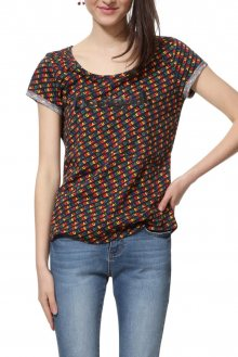Desigual barevné tričko TS Dilon - M