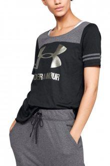 Under Armour černé dámské tričko Sportstyle Baseball - XS