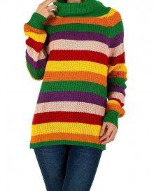 Dámský módní pruhovaný svetr Milas