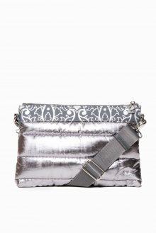 Desigual stříbrná kabelka Rep Cosmos Durban