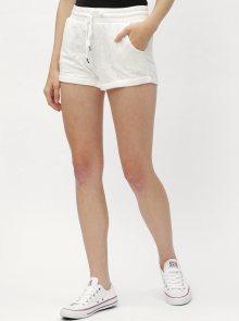 Bílé kraťasy s krajkou Haily´s Rosy