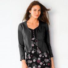 Blancheporte Krátká bunda na zip černá 38