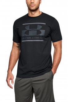 Under Armour černé pánské tričko Blocked Sportstyle Logo - XL