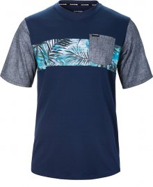 Dakine Pánské triko Vectra S/S Jersey Midnight/Painted Palm 10001000-S17 M