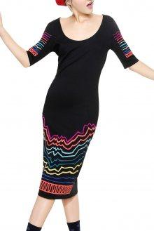 Desigual černé šaty Gratia  - XS