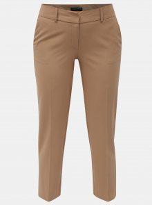 Hnědé zkrácené kalhoty Dorothy Perkins