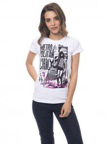 Trussardi Collection Dámské tričko D34TRC10032_Bianco/White\n\n