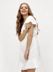 Bílé asymetrické šaty VERO MODA Sia