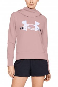 Under Armour pudrová mikina Sportstyle Logo Hoodie - XS
