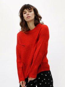 Červený svetr Jacqueline de Yong Daisy