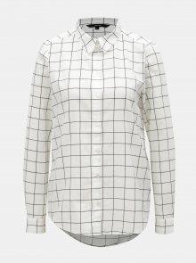 Černo-bílá kostkovaná košile VERO MODA
