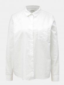 Bílá volná košile Selected Femme