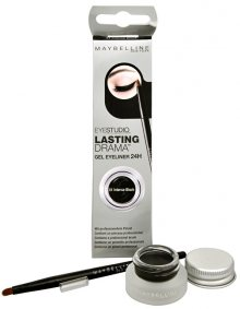 Maybelline Gelové oční linky Eyestudio Lasting Drama (Gel Eyeliner 24H) 2,8 g 01 Intense Black