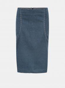 Modrá manšestrová sukně Tranquillo Dike