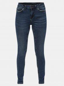 Modré skinny fit džíny Noisy May Lucy