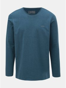 Modré pánské tričko s dlouhým rukávem LOAP Babol