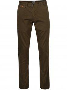 Khaki chino regular fit kalhoty Barbour Neuston Twill