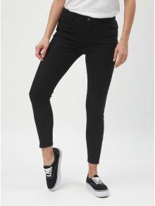 Černé skinny džíny se zipem na nohavicích Jacqueline de Yong New