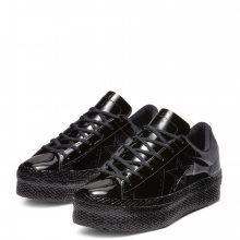 Converse černé lesklé tenisky na platformě One Star OX Black - 36