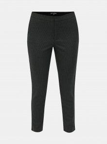 Šedé vzorované zkrácené kalhoty ONLY Aster