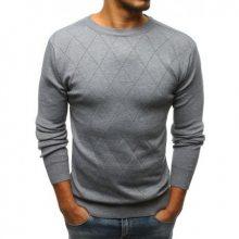 Pánský svetr šedý STYLE