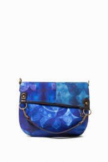 Desigual modrá kabelka Fun Blue Folded