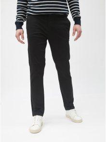Černé slim chino kalhoty Burton Menswear London