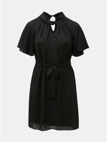 Černé šaty s průstřihy Dorothy Perkins Curve Hannah