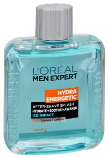 Loreal Paris Voda po holení Hydra Energetic Ice Impact (After-Shave Splash) 100 ml