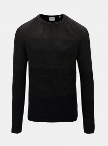Tmavě šedý svetr s kulatým výstřihem ONLY & SONS Sato