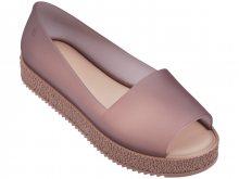 Melissa pudrově růžové boty na platformě Puzzle Light Pink  - 39