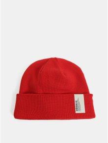 Červená unisex čepice s nášivkou adidas Originals
