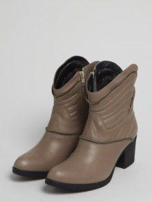 Onouqo Dámské kotníčkové boty ONQ1046_MINK\n\n