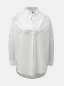 Bílá volná košile French Connection