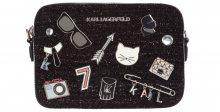 Klassik Pins Cross body bag Karl Lagerfeld | Černá | Dámské | UNI