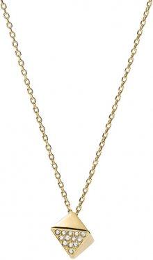 Fossil Jemný pozlacený náhrdelník s přívěskem JF02002710