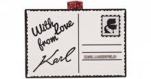 Psaníčko Karl Lagerfeld | Černá Bílá | Dámské | UNI