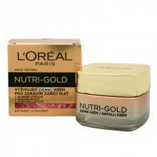 Loreal Paris Vyživující denní krém pro zdravím zářící pleť Nutri-Gold (Nourishing Daily Cream) 50 ml